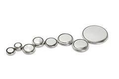 Baterias de lítio Imagem de Stock Royalty Free