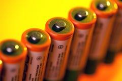 Baterias do AA Imagens de Stock Royalty Free