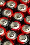 Baterias do AA Fotografia de Stock