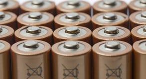 Baterias do AA Imagem de Stock
