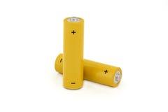 baterie Obraz Stock
