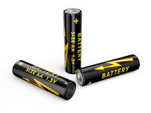 Baterie AA Zdjęcie Royalty Free