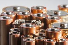 baterie używać zdjęcie stock