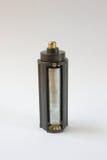 Baterii aa popielatej władzy paczka Zdjęcia Stock