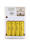 baterii ładowarka Obrazy Stock