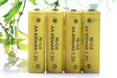 baterii eco życzliwy do naładowania Obrazy Stock