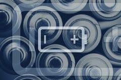 Baterii energii pojęcie Obraz Stock
