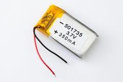 Baterii paczka na białym tle Obrazy Royalty Free