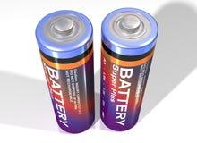 baterii para Zdjęcia Royalty Free