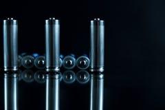 Baterii tła źródło energii i przetwarzać pojęcie Obraz Royalty Free