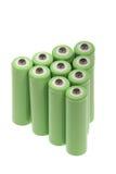 baterii zieleń Fotografia Stock