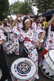 Baterista de Batala Banda de Percussao Foto de Stock Royalty Free
