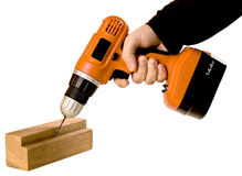 Baterry drill Stock Photography