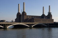 Batersea power plant. In south London Stock Image