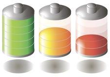 Bateryjna ikona Fotografia Stock