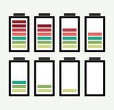 Bateryjna ikona Zdjęcia Stock