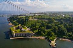 Bateryjna świrzepa Staten Island NY Zdjęcie Royalty Free