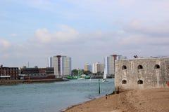 Bateryjny punkt, Portsmouth Zdjęcie Stock