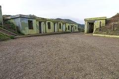 Bateryjny spencer przy golden gate Krajowym Rekreacyjnym terenem Fotografia Royalty Free