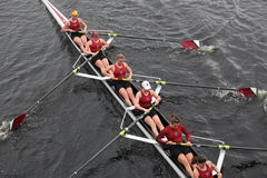 Bates College Women's Crew HOTC Royalty Free Stock Photos