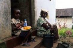 Batete .Equatorial Guinea Stock Photography