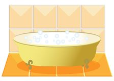 A  bath Stock Photo