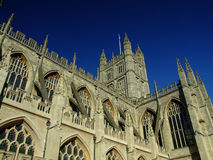 Bath Abbey. In the city of Bath, England Royalty Free Stock Photos