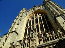 Bath Abbey. In the city of Bath, England Royalty Free Stock Photo