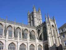 Bath Abbey. A view of Bath Abbey in England Royalty Free Stock Photography