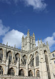 Bath Abbey. Is England's last great medieval church, dissolved in 1539 and is now a busy parish church. A lively program of concerts and services keep the Abbey Royalty Free Stock Image