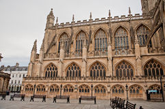 Bath Abbey Architecture Somerest England Royalty Free Stock Image