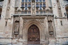 Bath Abbey Architecture Somerest England Royalty Free Stock Photos