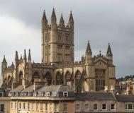 Bath Abbey in Bath Stock Image
