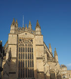 Bath Abbey in Bath Stock Photography