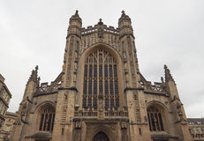Bath Abbey in Bath Stock Photos