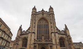 Bath Abbey in Bath Royalty Free Stock Photo