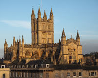 Bath Abbey in Bath Royalty Free Stock Images