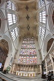 Bath Abbey, Bath, England. 17th century Fan vaulted ceiling. Stock Images