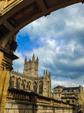 Bath Abbey in Bath, Somerset, England Royalty Free Stock Images