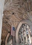 Bath Abbey in Bath, Somerset, England Stock Image