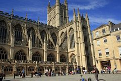 Bath Abbey, Bath, UK Royalty Free Stock Photography