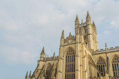 Bath Abbey in Bath, United Kingdom Royalty Free Stock Images