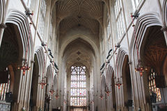 Bath Abbey Church Ceiling photo libre de droits