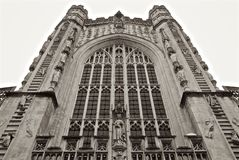 Bath Abbey Church United Kingdom Royalty Free Stock Images