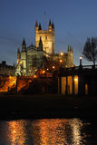 Bath Abbey in the City of Bath - England Royalty Free Stock Images