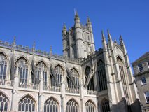 BATH Abbey England. Shot of Bath abbey in England royalty free stock images