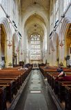 The Bath Abbey in England Royalty Free Stock Photo