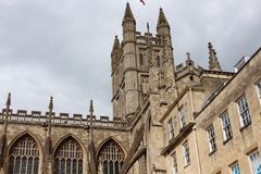 Bath Abbey, England Stock Photo