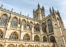 Bath Abbey in England Royalty Free Stock Photos