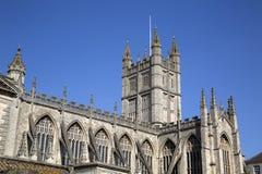 Bath Abbey Facade Royalty Free Stock Photo